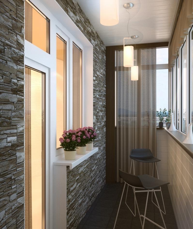 Балкон в хрущевке дизайн фото (20 штук).
