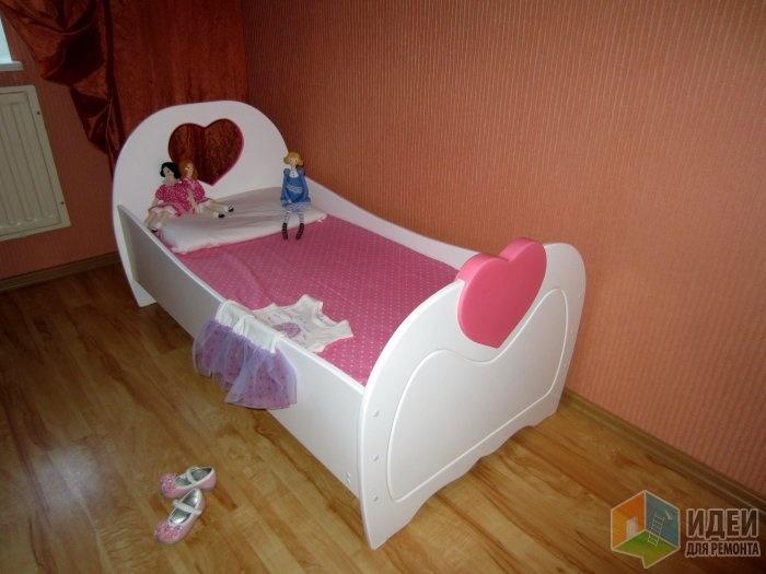 Кроватка своими руками для девочки