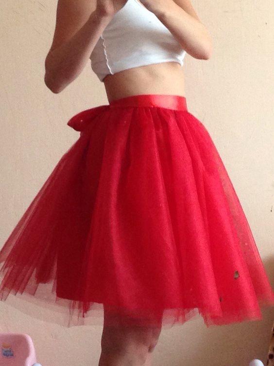 Фатиновые юбки фото своими руками