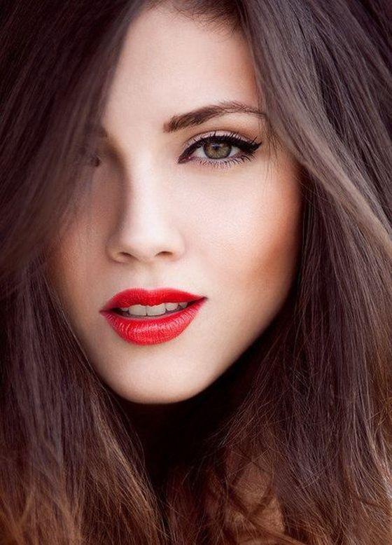 Варианты макияжа для карих глаз