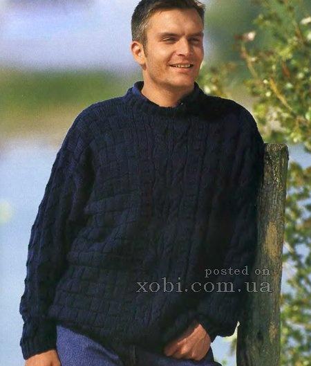 Вязанные пуловеры мужские